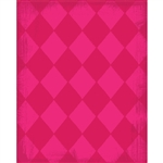 Pink Argyle Printed Backdrop