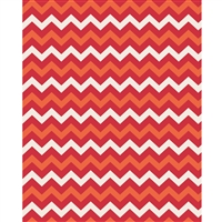 Fall Leaves Chevron Printed Backdrop