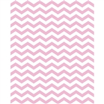 Pink Princess Chevron Printed Backdrop