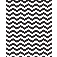 Black & White Chevron Printed Backdrop