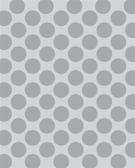 Light Gray Polka Dot Printed Backdrop Backdrop Express