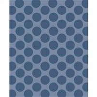 Steel Blue/Gray Polka Dot Printed Backdrop