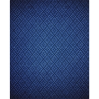 Blue Harlequin Printed Backdrop