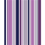 Purple & Gray Striped Printed Backdrop