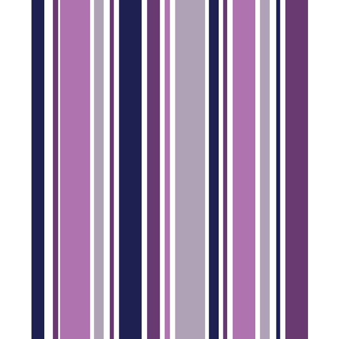 Purple Gray And White Bedroom: Purple & Gray Striped Printed Backdrop