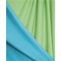 Light Blue & Mint Green Reversible Printed Backdrop