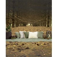 Picnic in the Woods Scenic Printed Backdrop