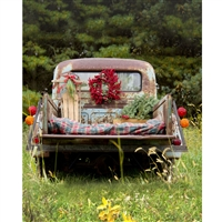 Countryside Holiday Scenic Printed Backdrop