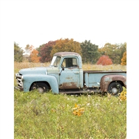 Vintage Truck Scenic Printed Backdrop