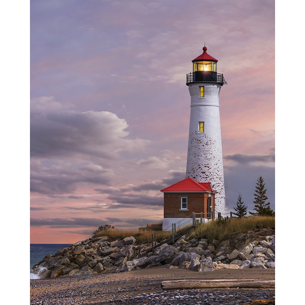 Lighthouse Printed Backdrop Backdrop Express