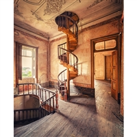 Spiral Staircase Printed Backdrop