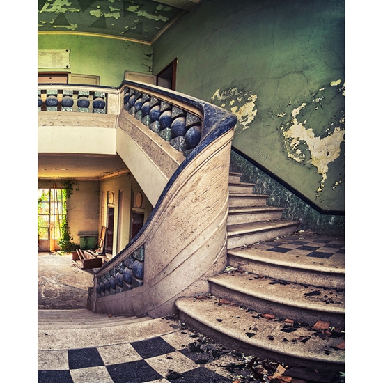 Imperial Staircase Printed Backdrop Backdrop Express