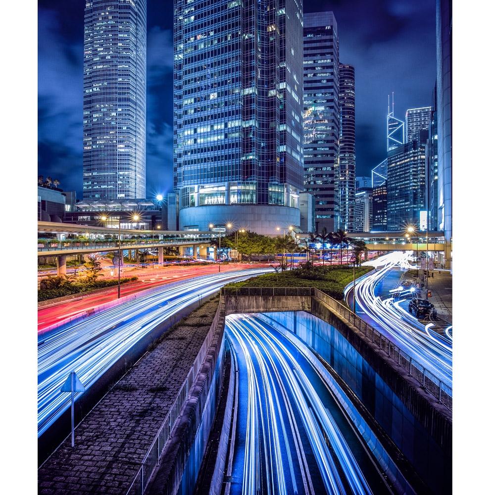 Central Hong Kong Scenic Printed Backdrop Backdrop Express