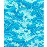 Ocean Waves Printed Backdrop