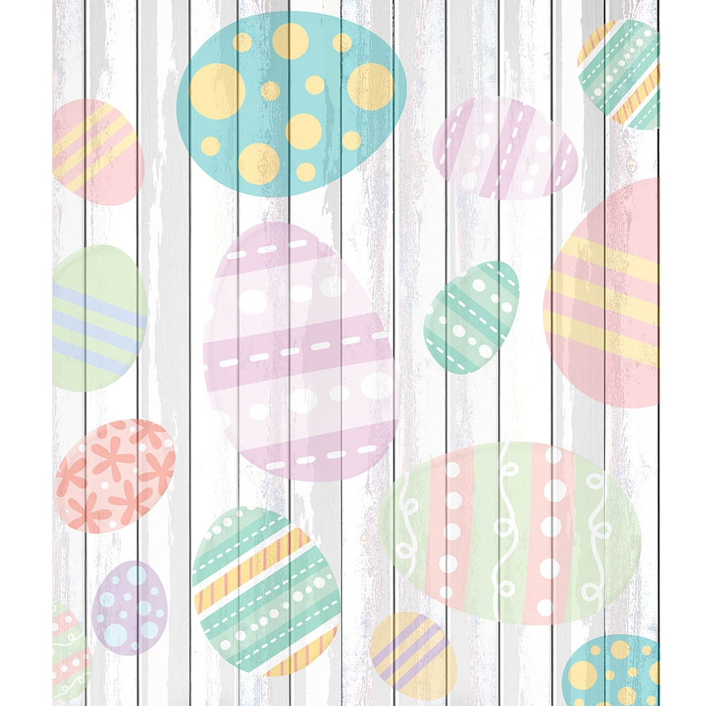 Easter Planks Backdrop Express