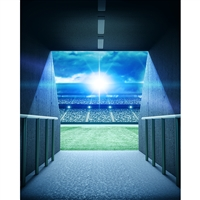 Stadium Tunnel Printed Backdrop