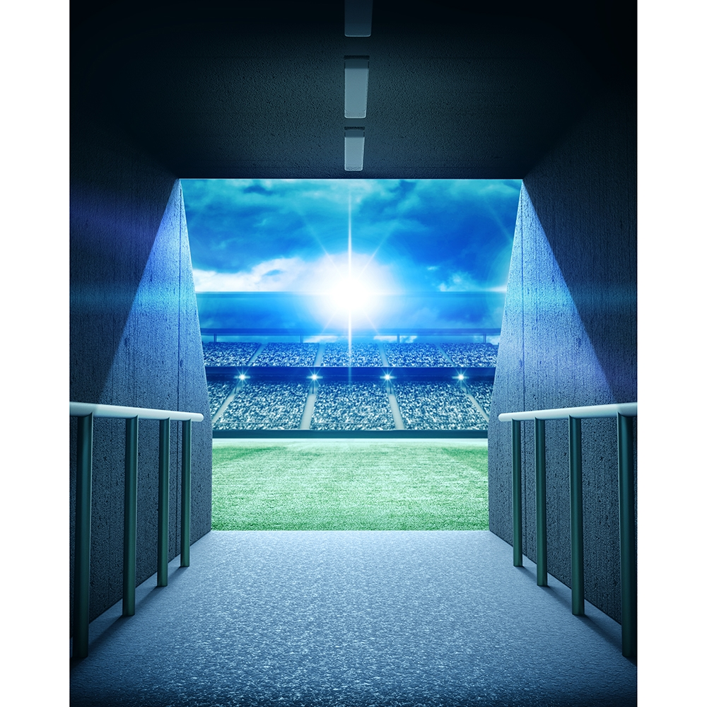 Stadium Tunnel Printed Backdrop Backdrop Express