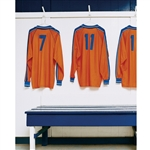 Soccer Jerseys Printed Backdrop