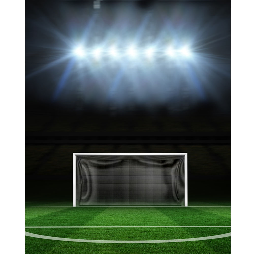 Soccer Goal Printed Backdrop Backdrop Express