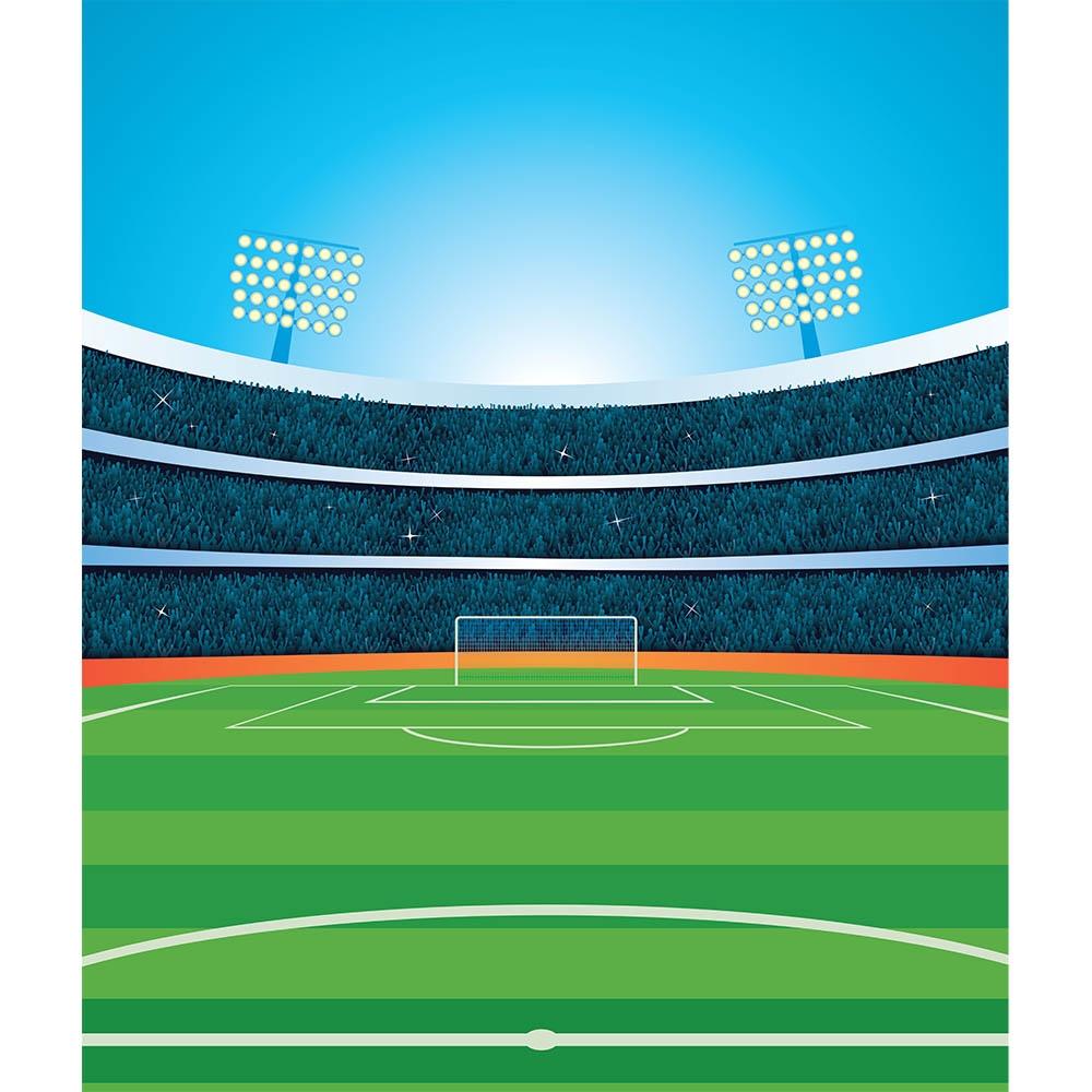 Soccer Stadium Printed Backdrop Backdrop Express