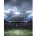 Clouded Stadium Printed Backdrop