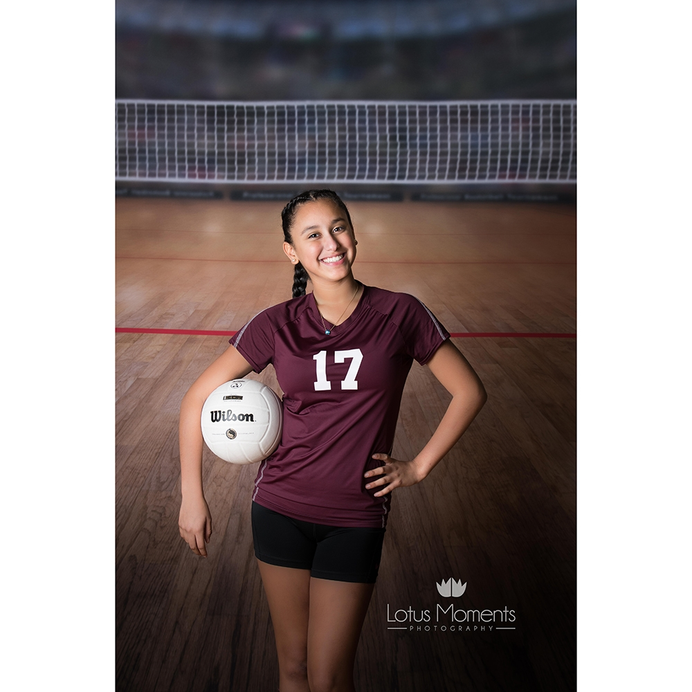Volleyball Arena Printed Backdrop Backdrop Express