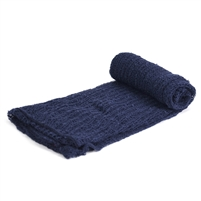 Midnight Blue Stretch Knit Wrap