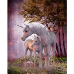 Unicorn Forest Printed Backdrop