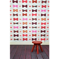 Dapper Valentine Printed Backdrop
