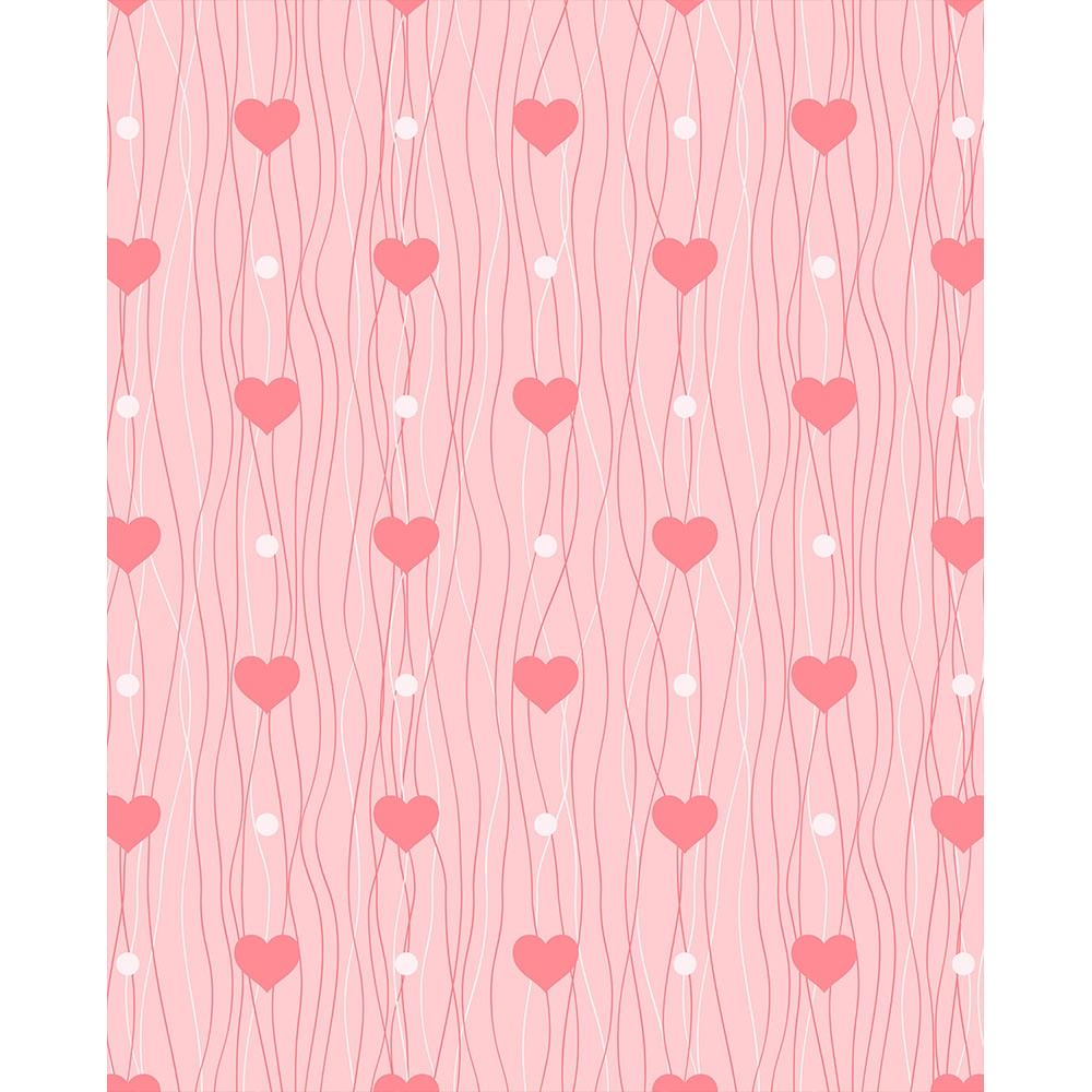 Heart Air Balloon Printed Backdrop Backdrop Express