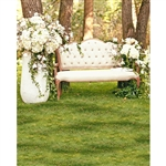Woodland Bench Printed Backdrop
