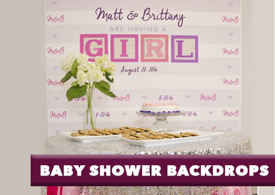 baby shower backdrops