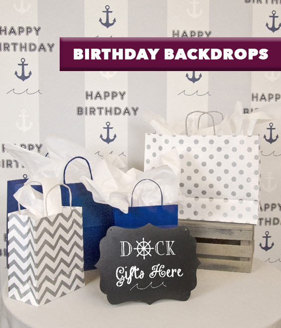 Birthday Backdrops