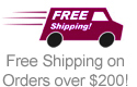 Free Shipping on Orders over $200!