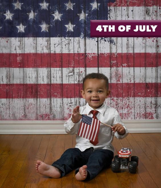 4th of july patriotic backdrops