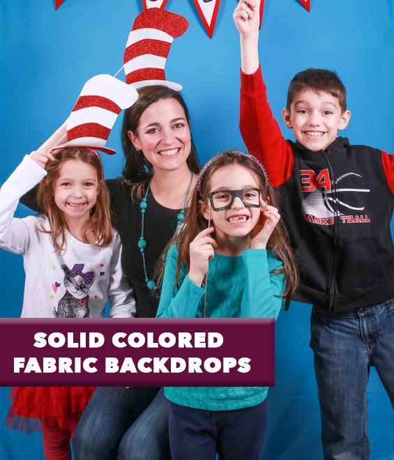 Solid Colored Fabric Backdrops