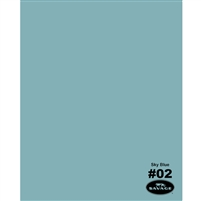 Sky Blue Seamless Backdrop Paper