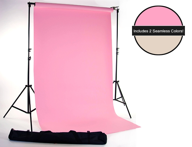 coral bone seamless paper kit backdrop express