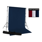 Red, White & Blue Fabric Backdrop Kit
