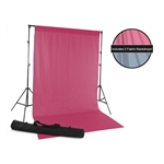 Blue & Pink Fabric Backdrop Kit