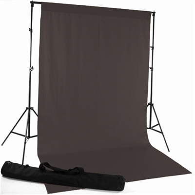Charcoal Gray Fabric Backdrop