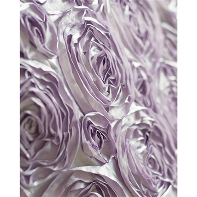 Lilac Rose Textured Fabric Backdrop