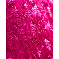 Raspberry Rose Textured Fabric Backdrop