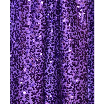 Purple Sequin Fabric Backdrop