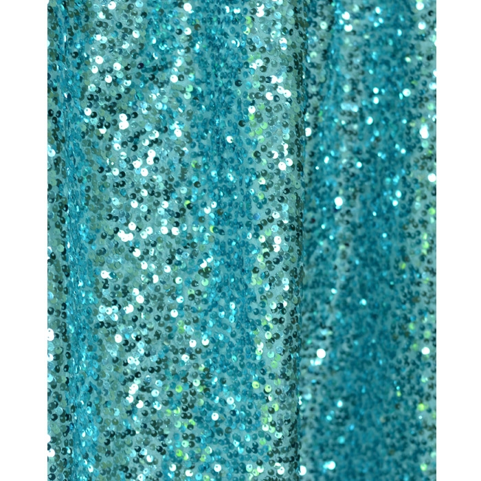 Teal sequin fabric backdrop backdrop express for Sequin fabric