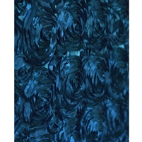 Navy Rose Fabric Backdrop
