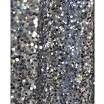 Charcoal Sequin Fabric Backdrop