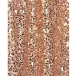 Rose Gold Sequin Fabric Backdrop