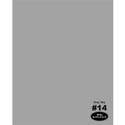 Gray Sky Seamless Backdrop Paper