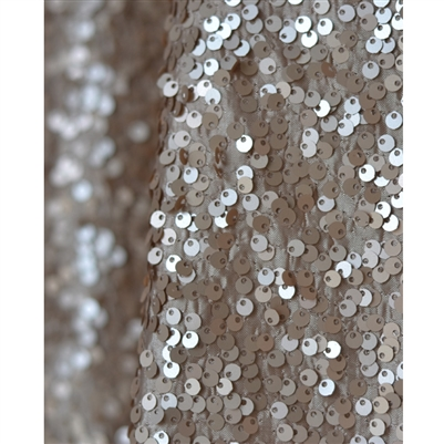 Champagne Sequin Fabric Backdrop